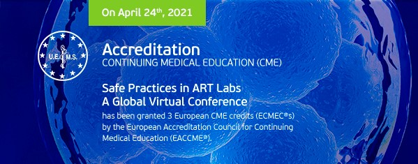 Safe Practices in Art Labs - Global Virtual Conference by Embryolab Academy accreditation